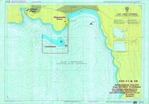 Marine Map of Saranda
